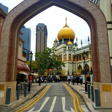 Arab street Mosque
