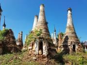 Ancient pagodas at Inle