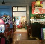 ginger and kafe in CM, amazing interiors in 3 buildings and lovely food