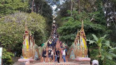 Entrance to Wat Phra That Doi Suthep in Chiang Mai