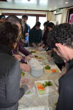 Spring roll making class