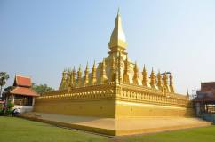 Pha That Luang - the most importent monument in Laos