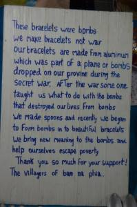 They make things from the bombs they find